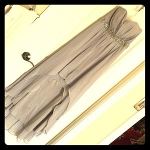 Dresses & Skirts - Strapless Hi-Low Dress